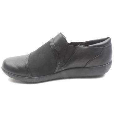 CLARKS LADIES MEDORAGALE - BLACK D