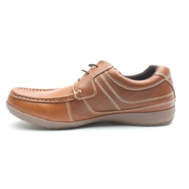 MORGAN MGN0754 LACED SHOE - TAN