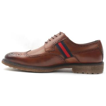 MORGAN MGN0800 LACED SHOE - TAN