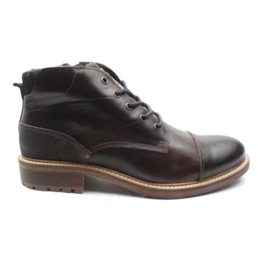 MORGAN MGN0840 LACED BOOT - BROWN