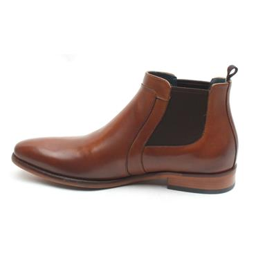 MORGAN MGN0966 GUSSET BOOT - DARK TAN
