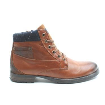 MORGAN MGN0990 LACED BOOT - TAN