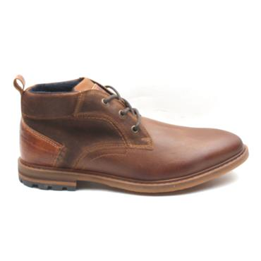 MORGAN MGN0992 LACED BOOT - TAN