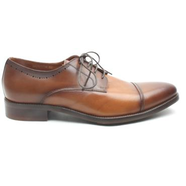 MORGAN MGN1014 LACED SHOE - TAN