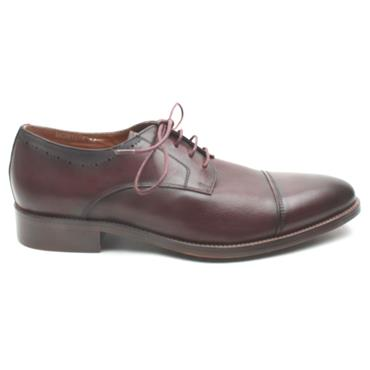 MORGAN MGN1014 LACED SHOE - WINE