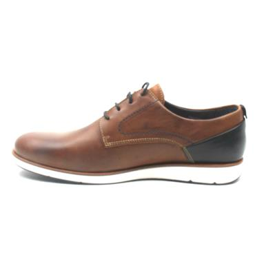 MORGAN MGN1028 LACED SHOE - TAN