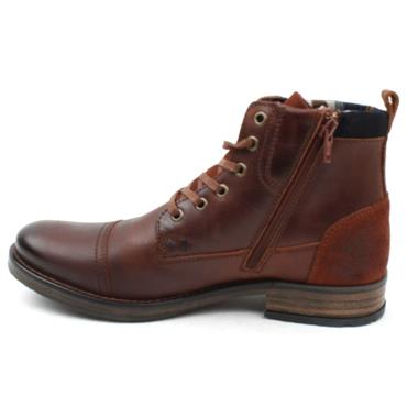 MORGAN MGN1060 LACED BOOT - BROWN