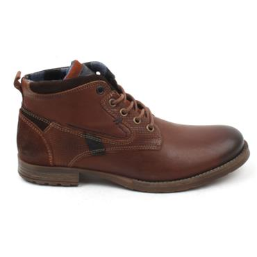 MORGAN MGN1062 LACED BOOT - CAMEL