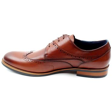 MORGAN MGN1110 LACED SHOE - TAN