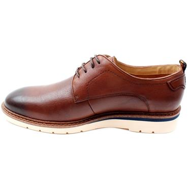 MORGAN MGN1114 LACED SHOE - DARK TAN