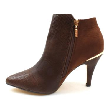 KATE APPLEBY MIRFIELD ANKLE BOOT - TAN
