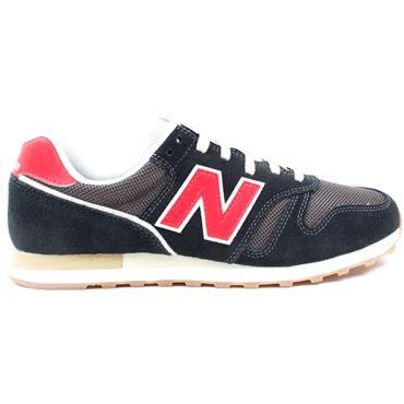 NEW BALANCE ML373HL2 RUNNER - BLACK/RED