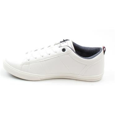 LLOYD AND PRYCE LACED SHOE - WHITE