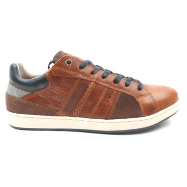 LLOYD AND PRYCE MORTLOCK LACED SHOE - CAMEL