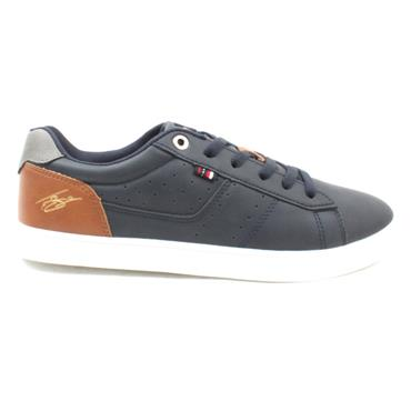 LLOYD AND PRYCE MULDOON LACED SHOE - NAVY