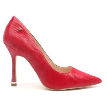 AMY HUBERMAN MY MAN GODFREY SHOE - RED