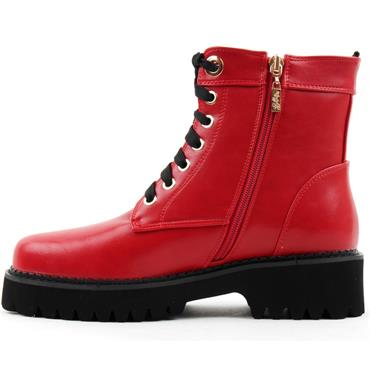 KATE APPLEBY NEWBURY LACED BOOT - RED