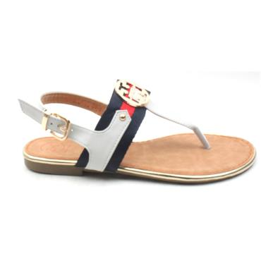 ZANNI NEW KIRK ONE TOE POSR - WHITE MULTI