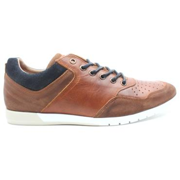 LLOYD AND PRYCE O DRISCOLL LACED SHOE - TANMULTI