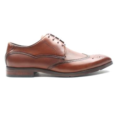 BOWE ORANGE DRESS SHOE - WHISKEY