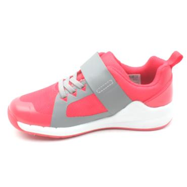 CLARKS ORBIT RACE VELCRO - PINK MULTI F