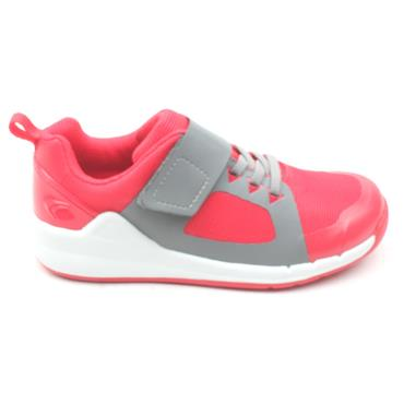 CLARKS ORBIT RACE VELCRO - PINK MULTI G