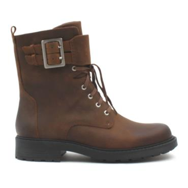 CLARKS ORINOCO 2 LACE BOOT - BROWN LEATHER