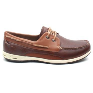 CLARKS ORSON HARBOUR BOAT SHOE - BROWN G