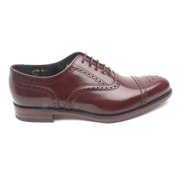 LOAKE LACED MENS OVERTON SHOE - BROWN