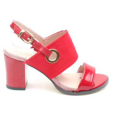 KATE APPLEBY PADSTOW SANDAL - RED