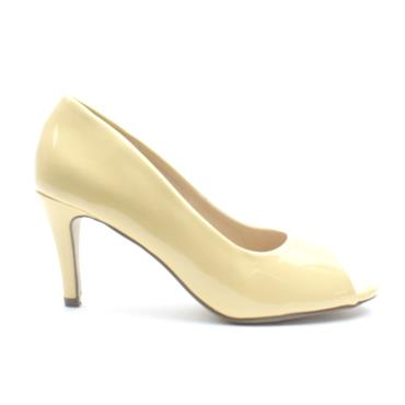 MILLIE AND CO PAIGE PEEP TOE SHOE - YELLOW