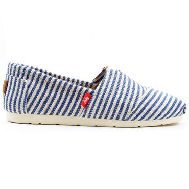 DRILLEYS PISMA CANVAS SHOE - BLUE MULTI