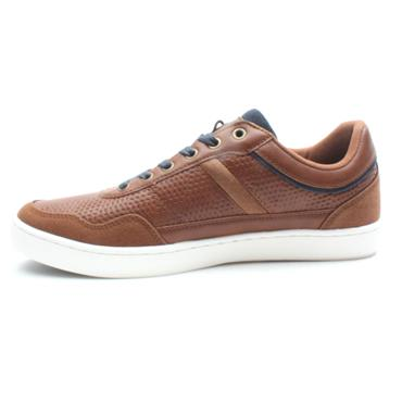 LLOYD AND PRYCE POLDEN LACED SHOE - CAMEL