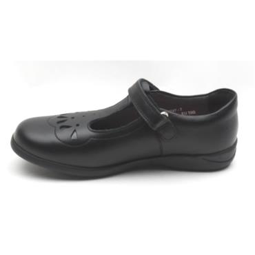 STARTRITE POPPY STRAP SHOE - BLACK G