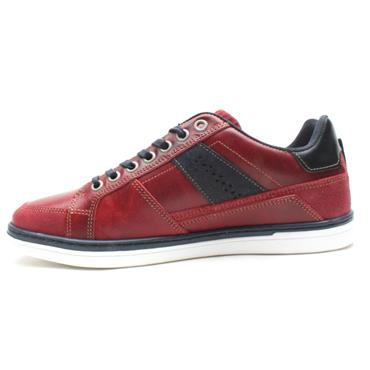 LLOYD AND PRYCE PRICE LACED SHOE - RED