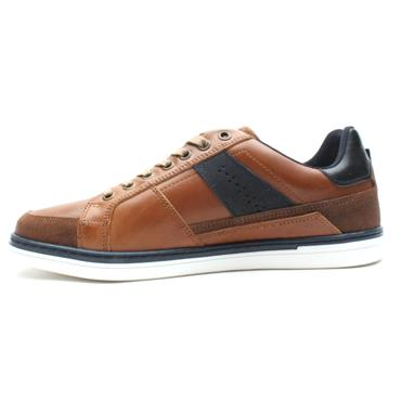 LLOYD AND PRYCE PRICE LACED SHOE - TAN