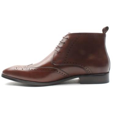 BOWE PRINCIPALITY DRESS BOOT - WHISKEY