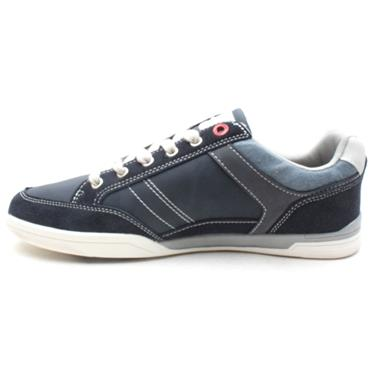 LLOYD AND PRYCE PURDON CANVAS SHOE - BLUE
