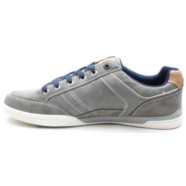 LLOYD AND PRYCE PURDON CANVAS SHOE - GREY