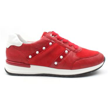 REMONTE R7023 LACED SHOE - RED