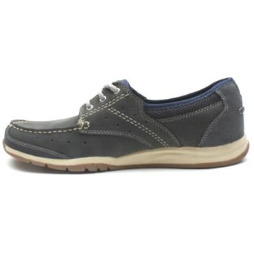 CLARKS RAMADA ENGLISH LACED SHOE - NAVY G