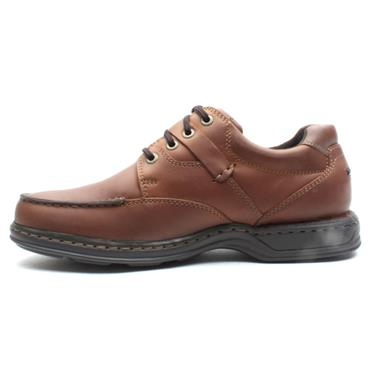 HUSH PUPPIES RANDALL2 LACED SHOE - BROWN