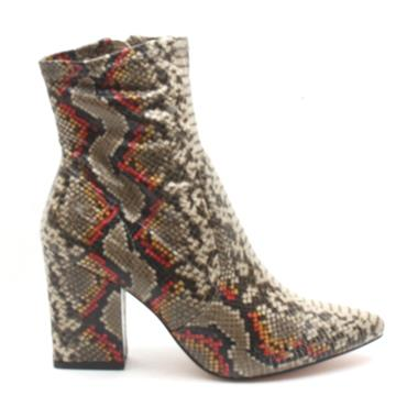 UNA HEALY REFLECTIONS ANKLE BOOT - BLACK MULTI