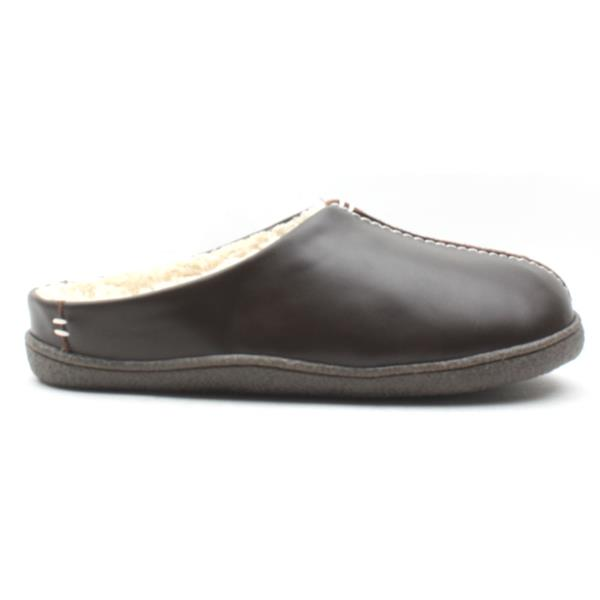 025f2447 Clarks Mens Relaxedstyle Slipper - Brown