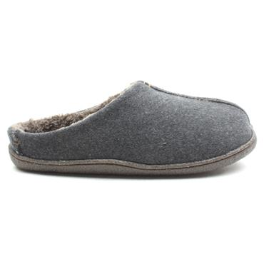 CLARKS MENS RELAXEDSTYLE SLIPPER - GREY