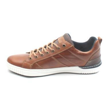 LLOYD AND PRYCE RITCHIE LACED SHOE - CAMEL