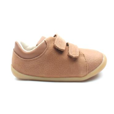 CLARKS ROAMER CRAFT T PREWALKER - TAN G