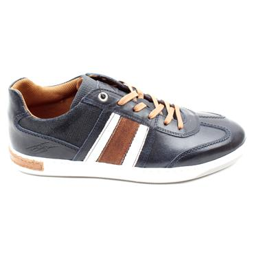 LLOYD AND PRYCE MENS ROUX SHOE - NAVY