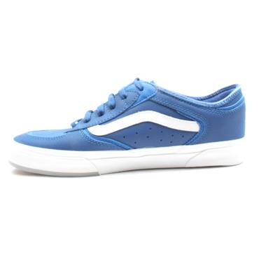 VANS ROWLEY CLASSIC LACED SHOE - BLUE GREY