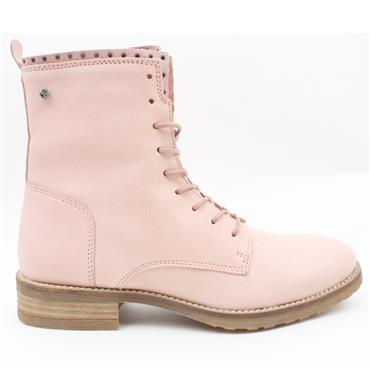 AMY HUBERMAN ROXANNE LACED BOOT - PINK